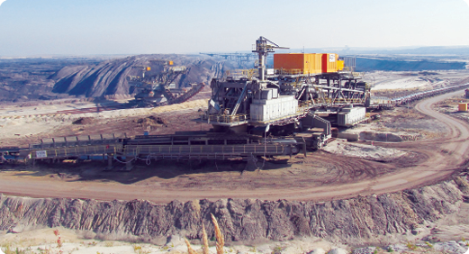 India has a strong mining foundation. It has the world's fourth largest coal reserves and significant reserves of minerals like bauxite, titanium, chromite and diamonds.