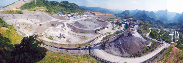 The open pit at Eldorado's Jinfeng project which uses BIOX technology and a conventional carbon-in-leach circuit.