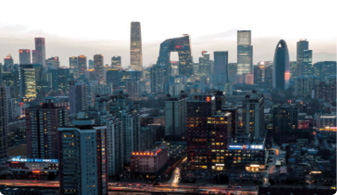 China is evolving into an economic powerhouse with cities like Beijing being prime examples of China's new modern face.