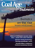 Coal Age Indonesia September 2013 - Sumatra on the rise, adaro, german mining technology, sumatra miner